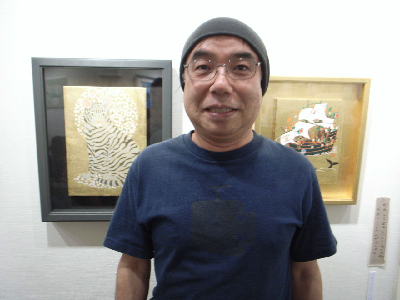 鈴木強 万葉の世界を描く日本画展~vol.4 – 柴田悦子画廊